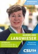 Bürgermeister-Kandidatin Hannelore Langwieser
